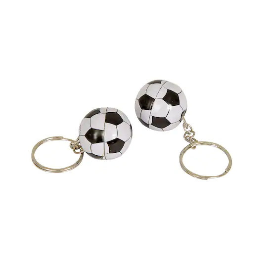 Soccer Ball Keychain Party Favors 12ct In 2020 Soccer Party Favors Soccer Birthday Parties Soccer Birthday