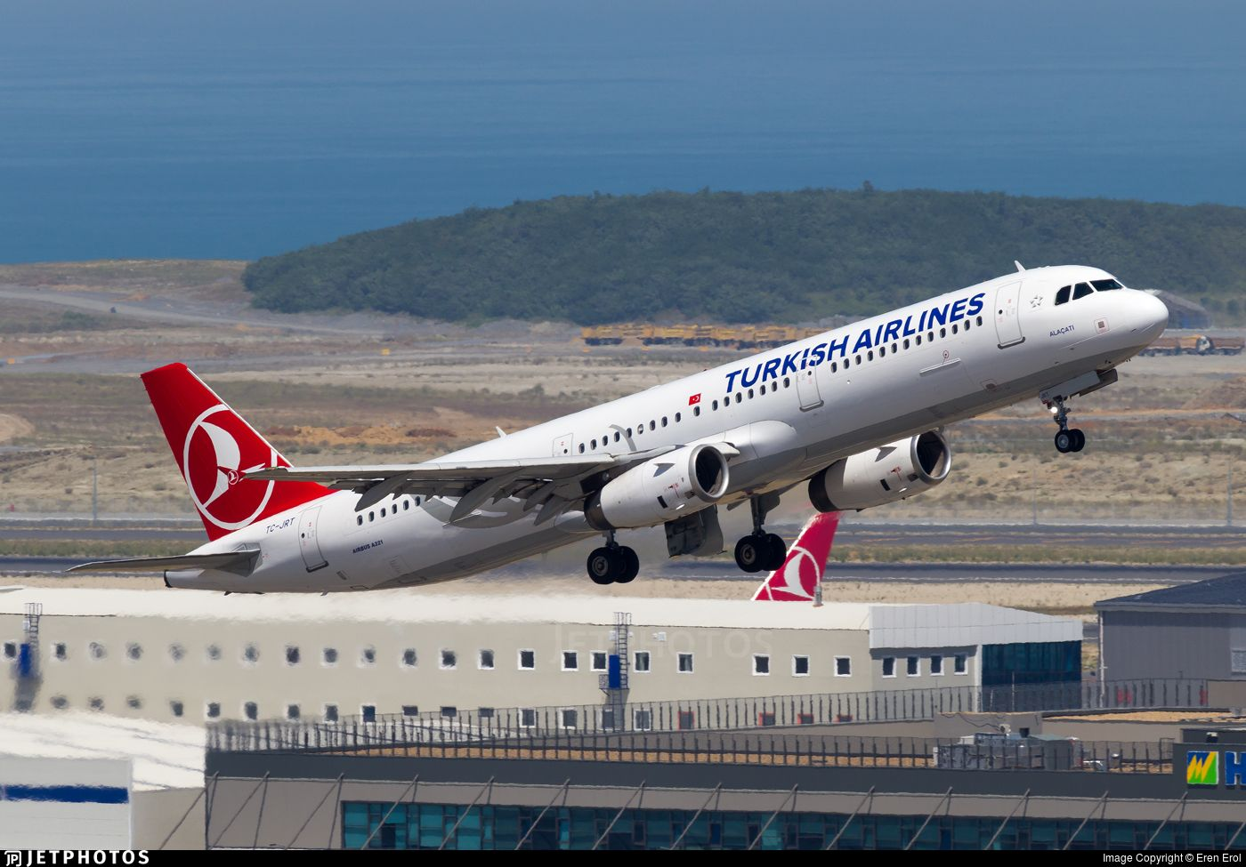 Tc Jrt Turkish Airlines Istanbul New Airport Airlines