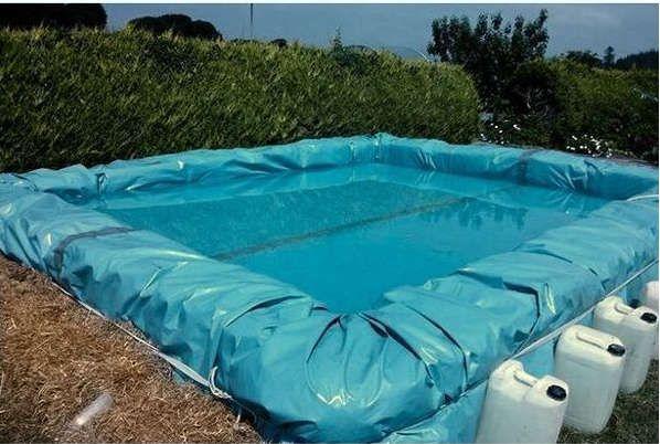 Fabriquer une piscine avec du foin Bricolage - fabriquer sa piscine en bois