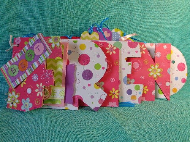 Stamping Paper: MY BEST FRIEND