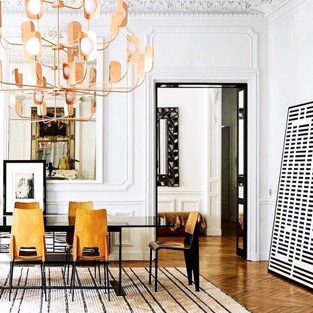 Esszimmer, Wohnen, Badezimmer Innenarchitektur, Pariser Wohnung, Deko Ideen,  Architektur Design, Speiseräume, Architekten, Kunst Wohnen