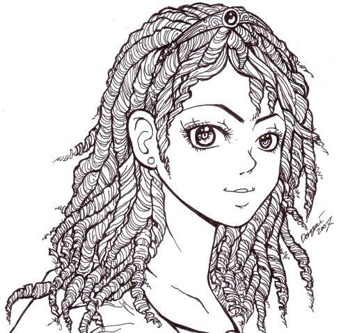 curly hair | People coloring pages, Boys with curly hair ...