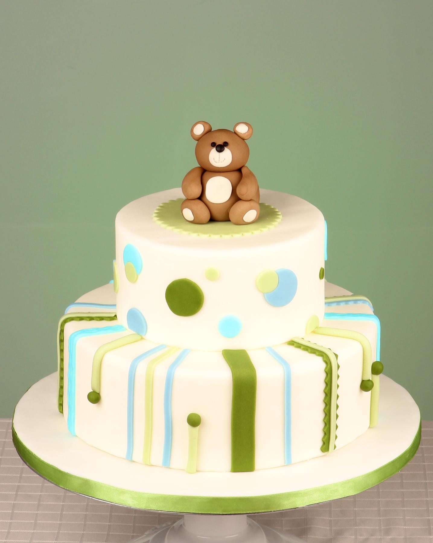 Baby Shower Cake Teddy Bear Cake