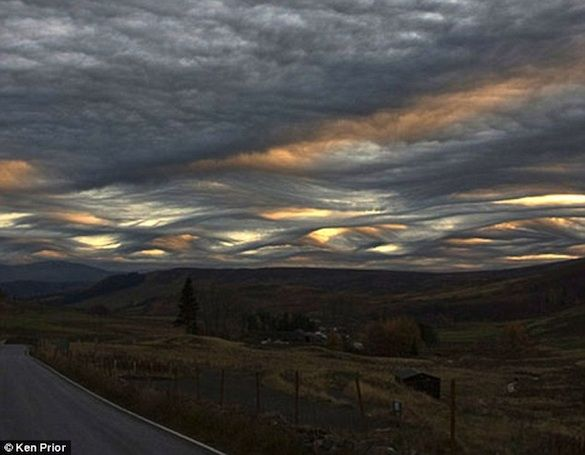 Undulatus asperatus , These choppy clouds could be the first new type of cloud accepted since 1951 in the International Cloud Atlas of the World Meteorological Organization.