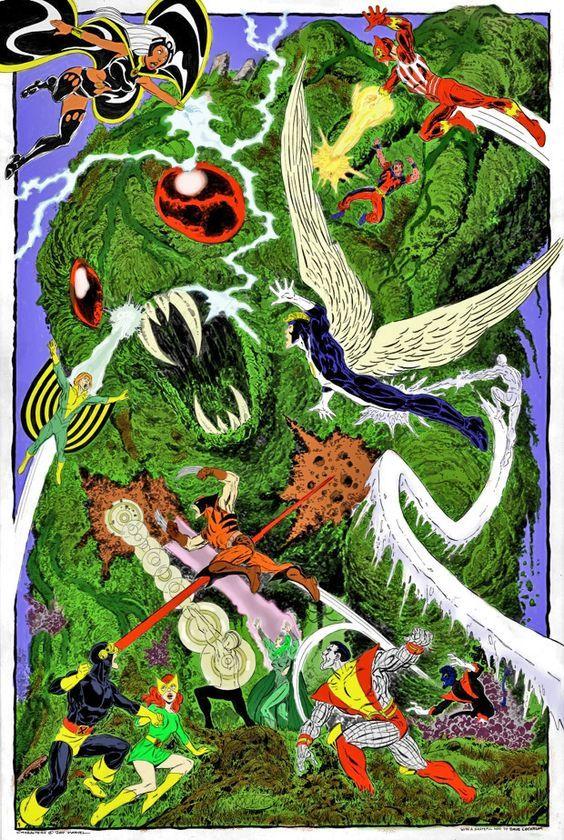 X Men Versus Krakoa By John Byrne X Men Comic Books Art Man Vs