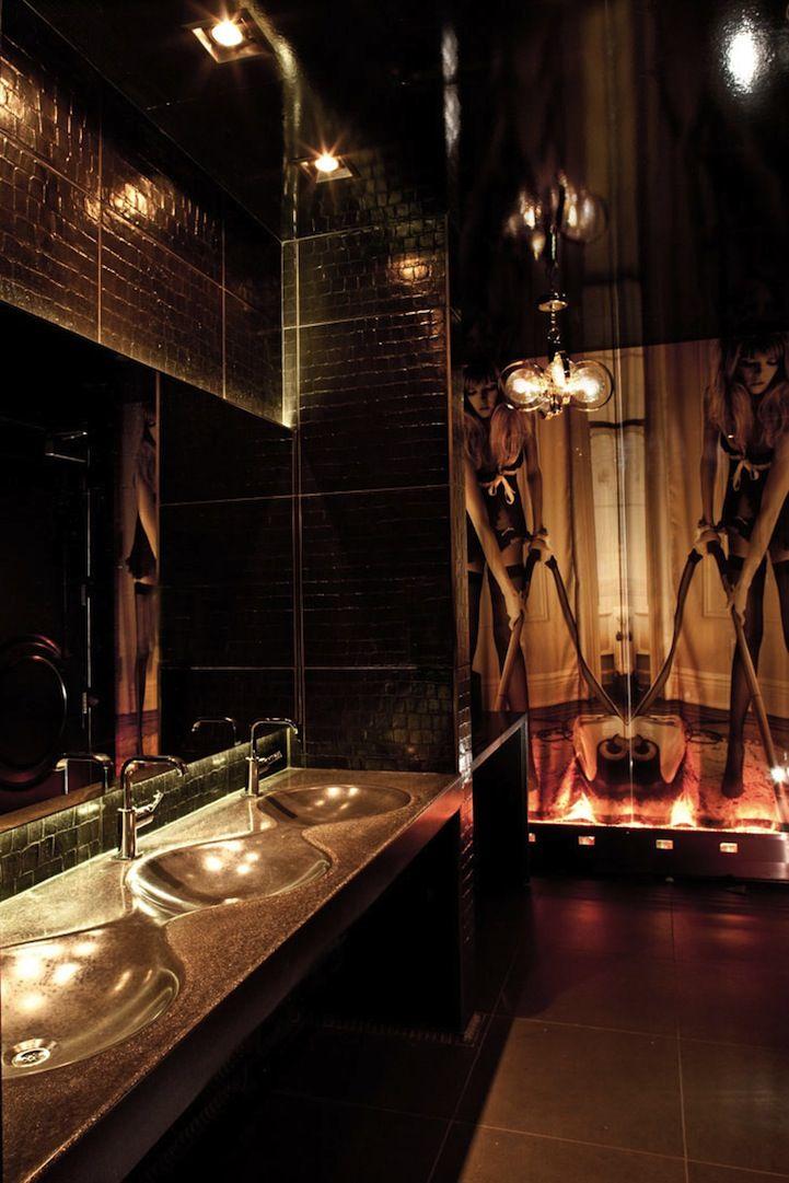Urban Hotspot Vanity Las Vegas 13 Pics Restroom Design Night Club Toilet Design