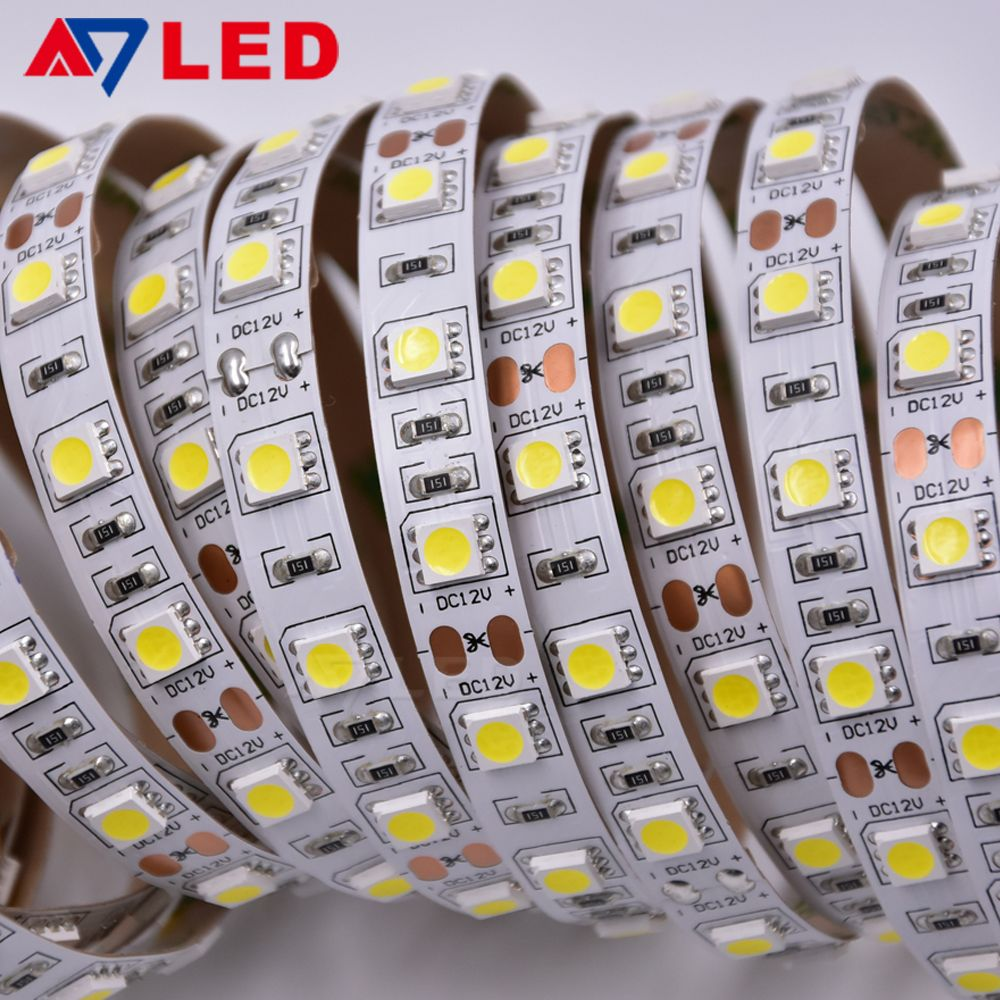 Low Voltage Dc 12v 24v 5050 Waterproof Led Strip For Lamp Post Advertising Display Flexible Led Strip Lights Led Strip Lighting 12v Led Strip Lights