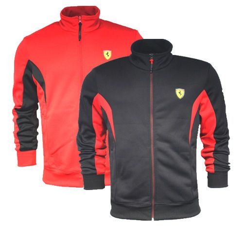 PUMA Ferrari Men/'s Lightweight Jacket Black
