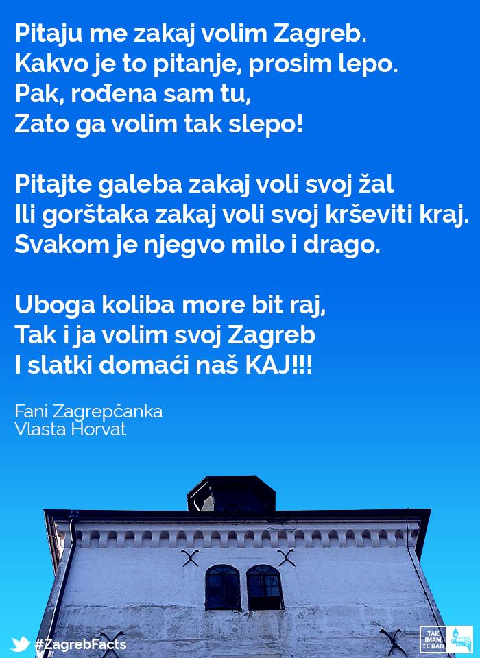 Fakat Je Tak Zagrebfacts Zagreb Zg Agram Takimamterad Zakajvolimzagreb Zagreb Croatia Zagreb Croatia Travel