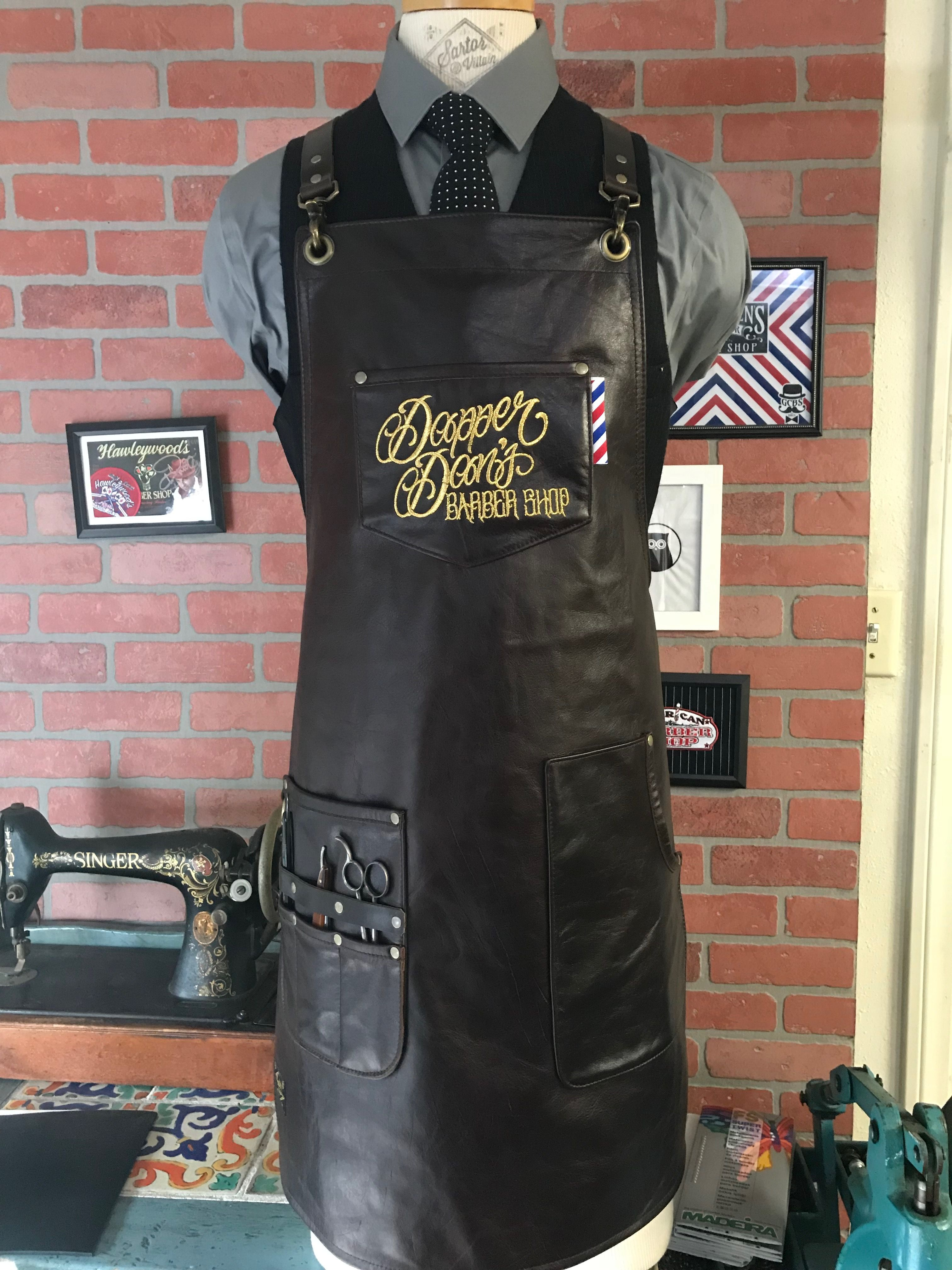 barber clothing