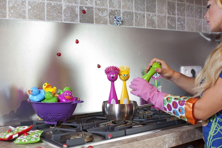 Oooohhh!!!! Son tan monos que dan ganas de comérselos!! ;) #cepillo, #lavaplatos, #dishbrush, #brosse, #vaisselle, #kitchen, #home, #casa, #cocina, #cuisine, #maison