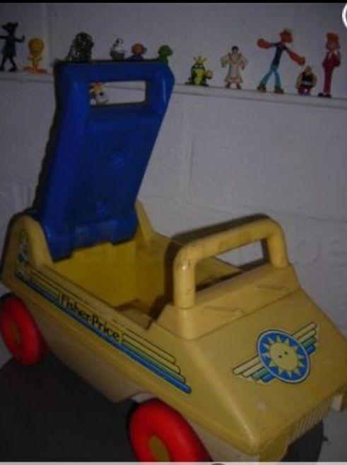 Fischer price loopwagen