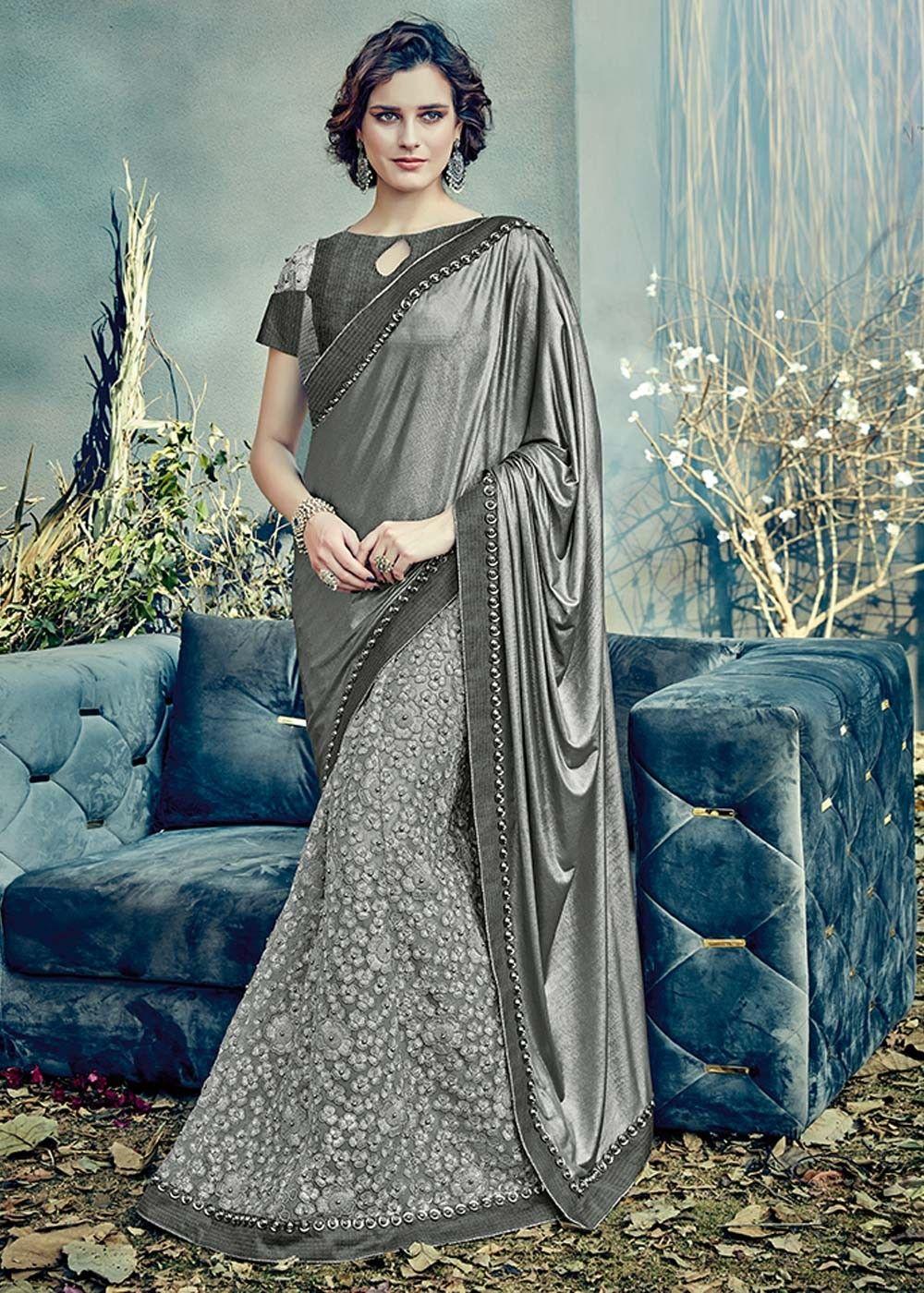 6aca94e7b1 Indian Latest Bridal Lehenga Saree Designs 2018-2019 | Saree n ...