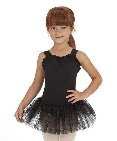 1e9ab01843d Cant wait till Belle is ready for ballet! Black Tutu Leotard - Toddler    Girls by Capezio  zulilyfinds