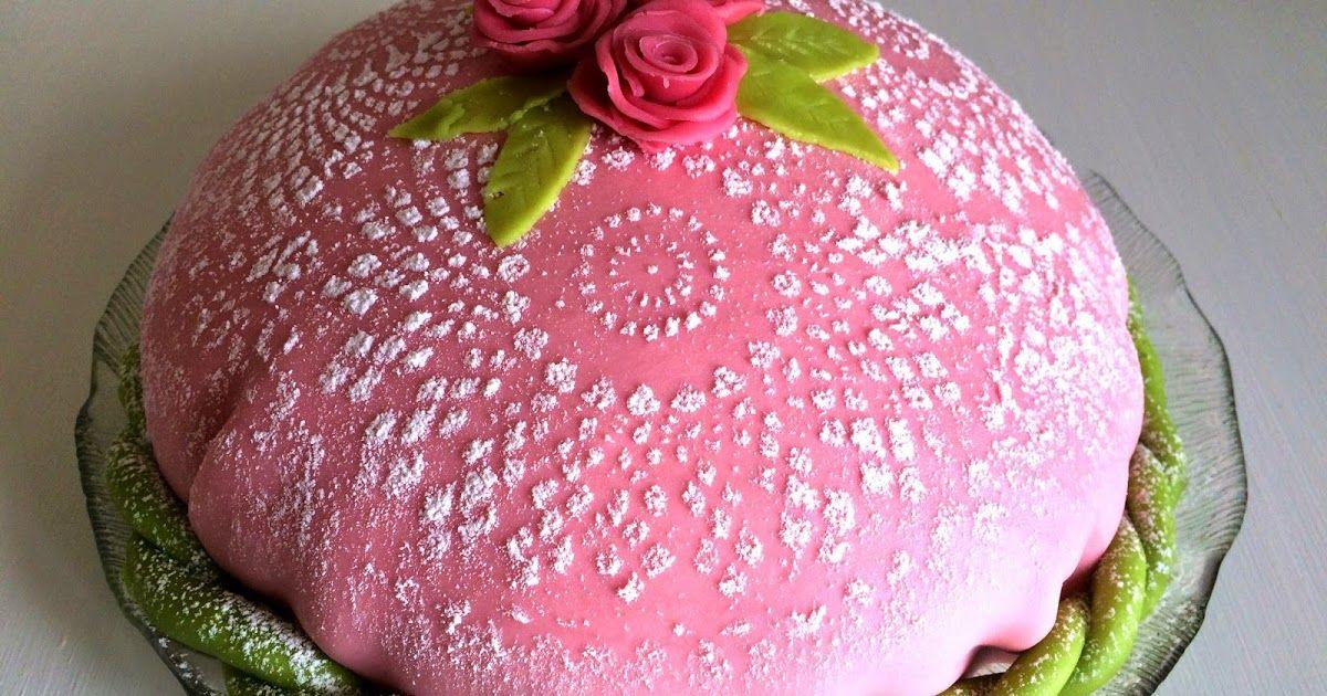 kan man frysa prinsesstårta