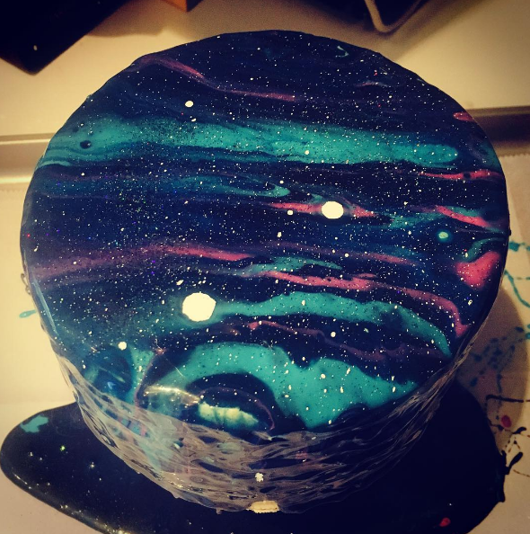 Mirror Glaze Cake Birthday