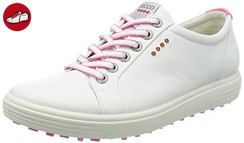 Ecco Damen Womens Golf Casual Hybrid Golfschuhe, Weiß (White), 41 EU