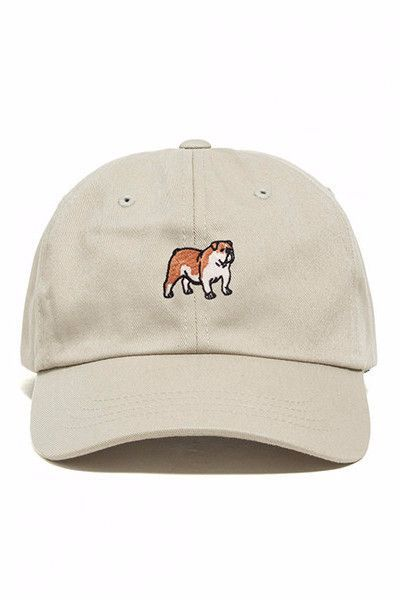 131ea3cd456 English Bulldog dad hat by Dog Limited is the perfect cool girl way to  sport your favorite breed. This hat will make you and others very happy.
