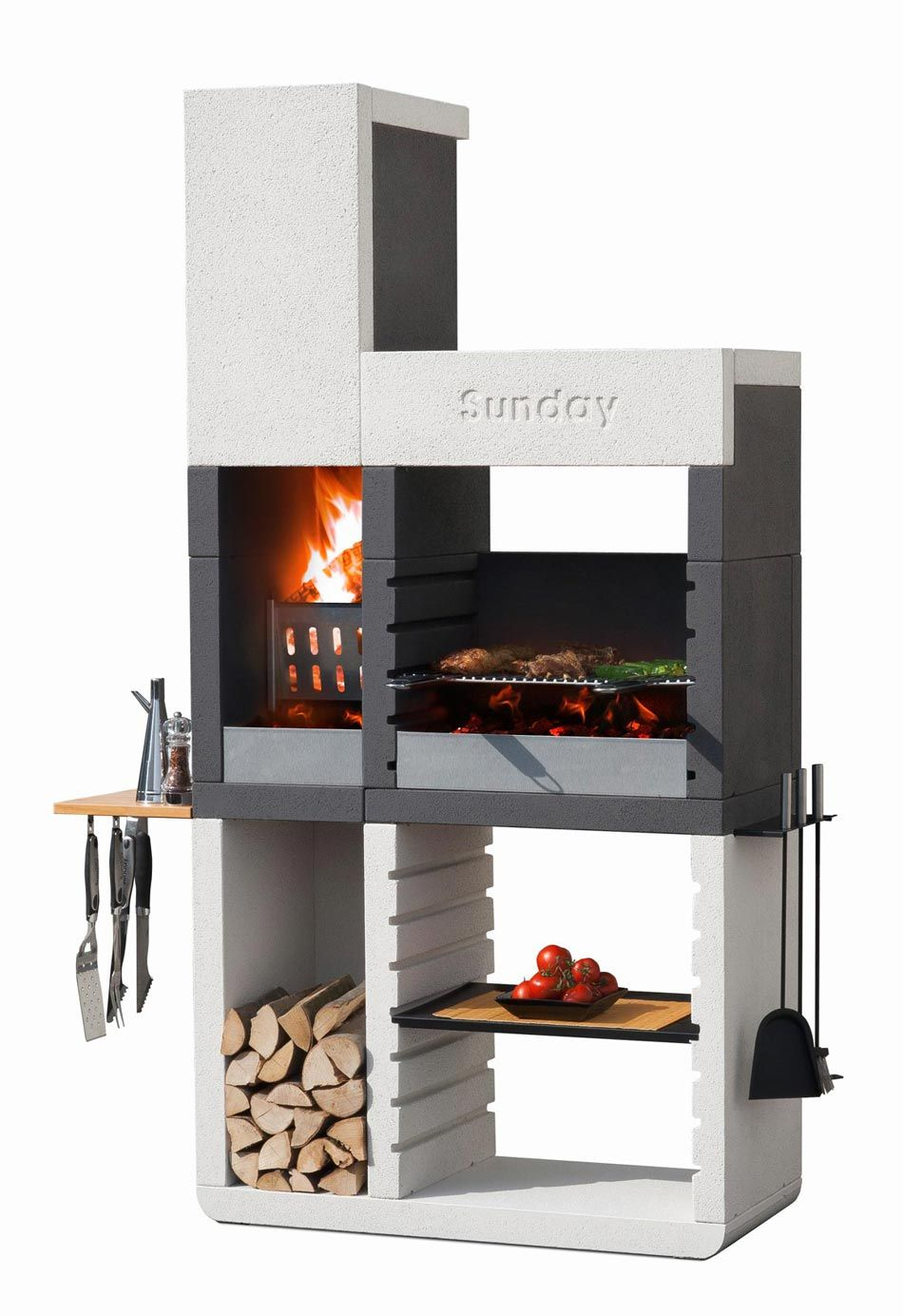 grillkamin sunday® one tower in 2018 | furra | pinterest | outdoor