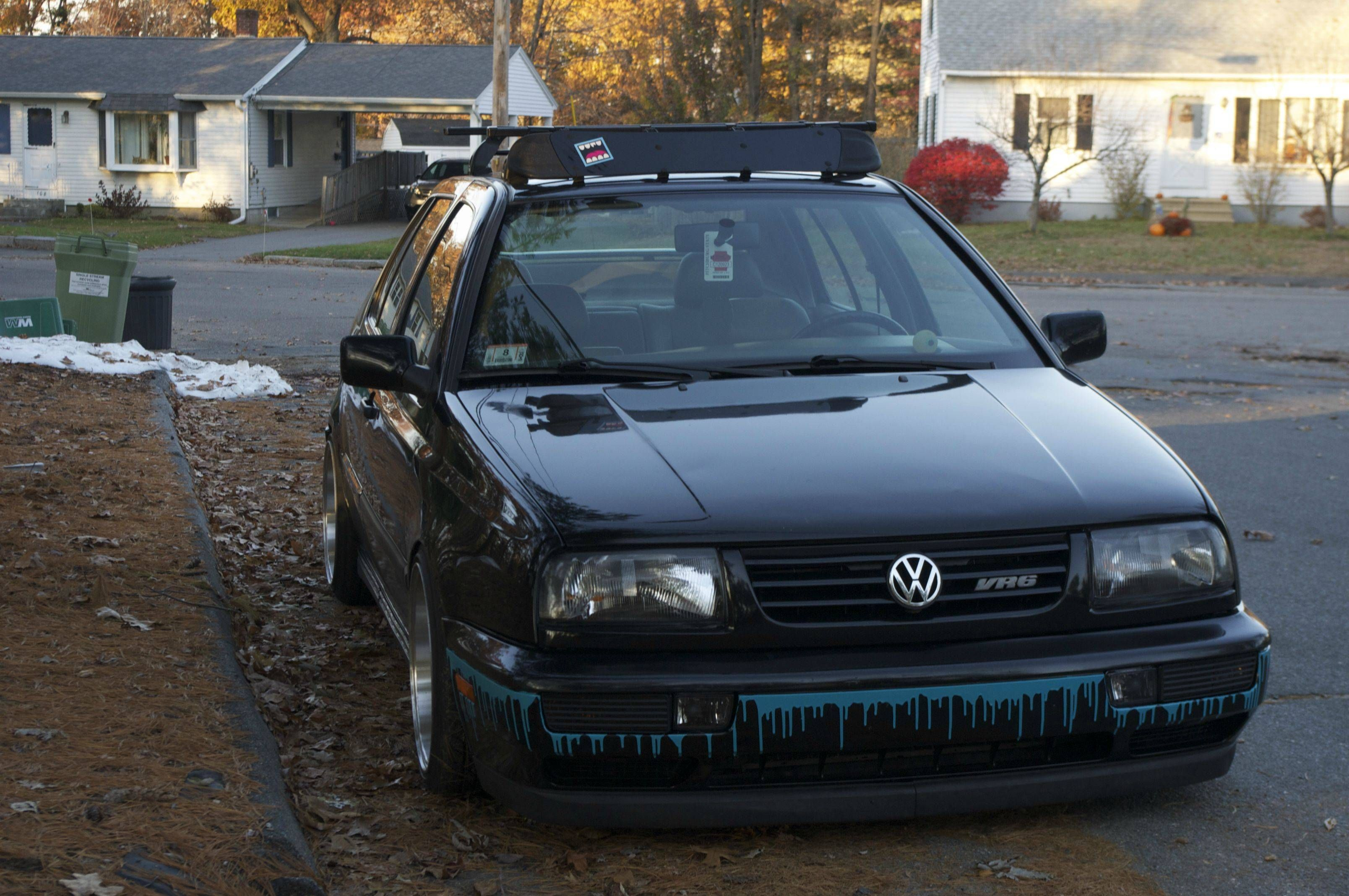 FS: Thule Roof Rack, Snowboard Rack, & Fairing | vw golf ...