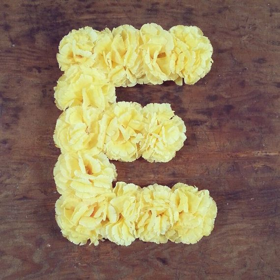 Best 25 Flower Letters Ideas On Pinterest Baby Room