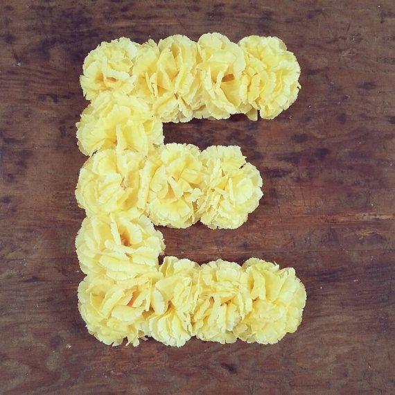Best 25 Flower Letters Ideas On Pinterest Diy Party