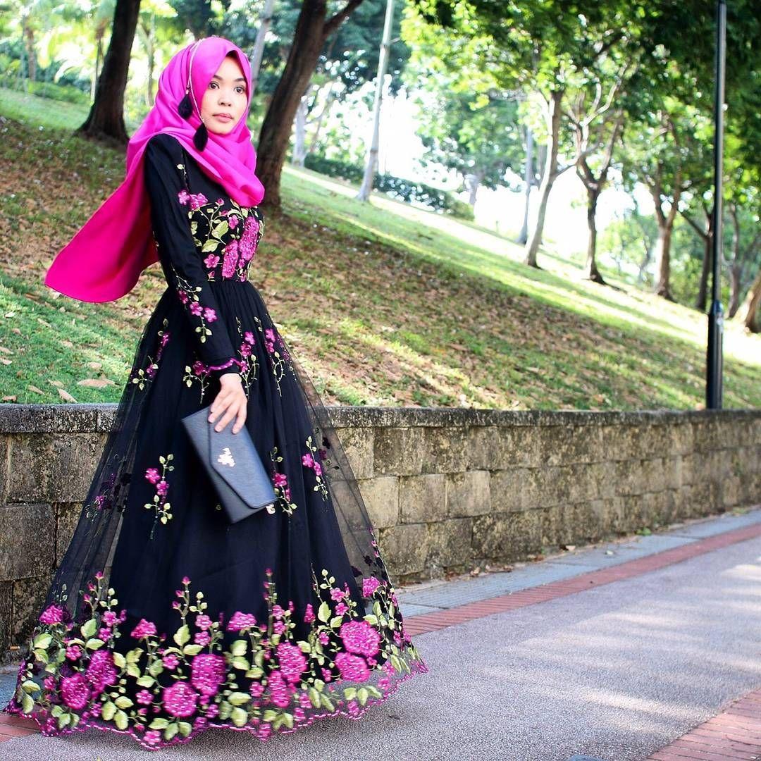 Design Desain Baju Muslim Terbaru Untuk Remaja Putri 12
