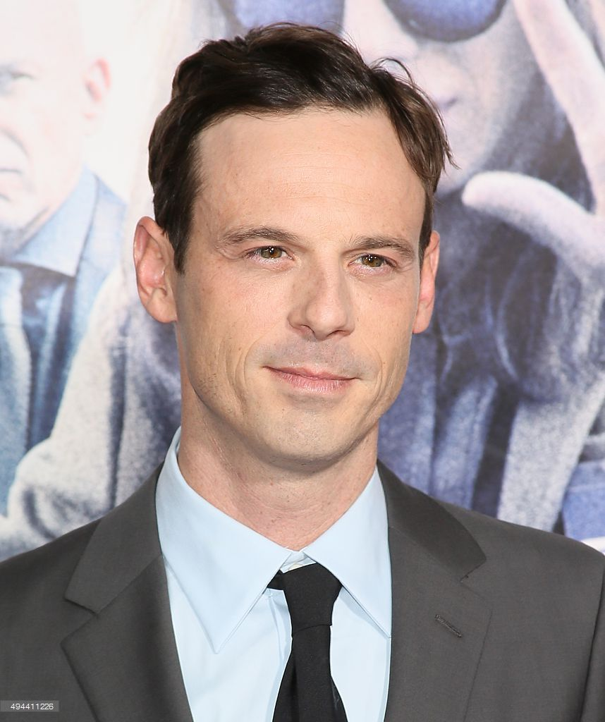 Scoot McNairy attends the premiere of Warner Bros. Pictures' OUR BRAND IS CRISIS at TCL Chinese Theatre on October 26, 2015 in Hollywood, California. (photo JB Lacroix)
