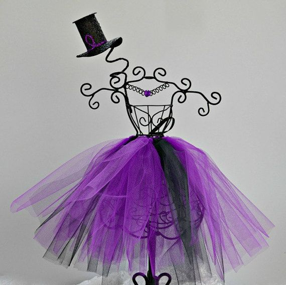 Halloween Tutu Centerpiece, Tutu Mannequin, Bridal Shower Centerpiece,  Ballerina Centerpiece, Wedding Centerpiece, Baby Shower Centerpiece