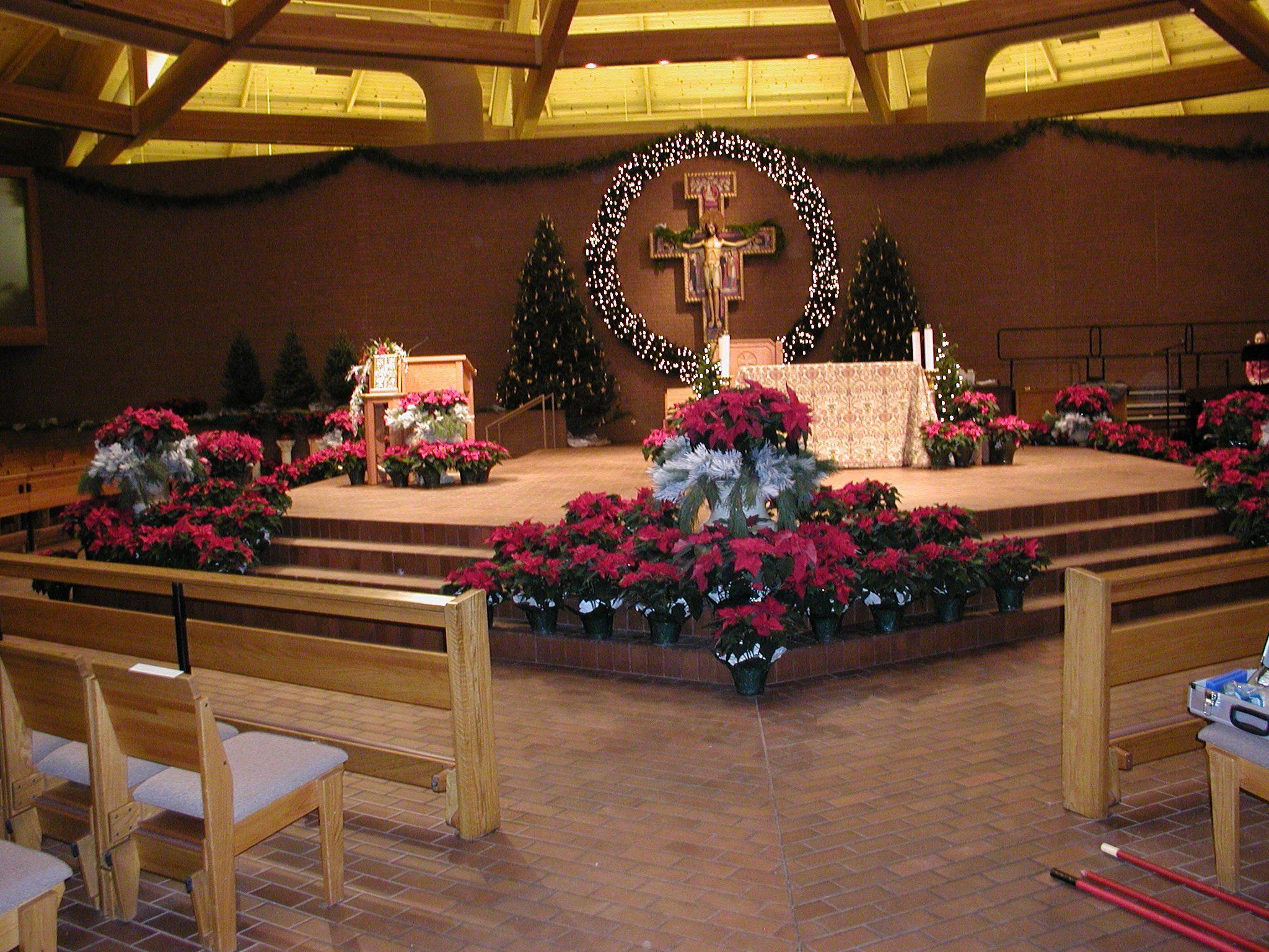 Seasonal Decorations   St. Vincent De Paul Catholic Church