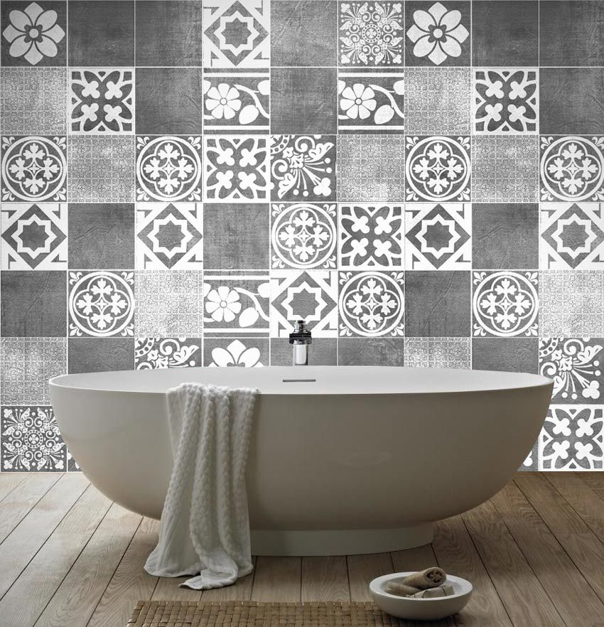 Apply This Luxury Tiles Stickers In Any Flat Surface. If You Are Looking  For A Photo