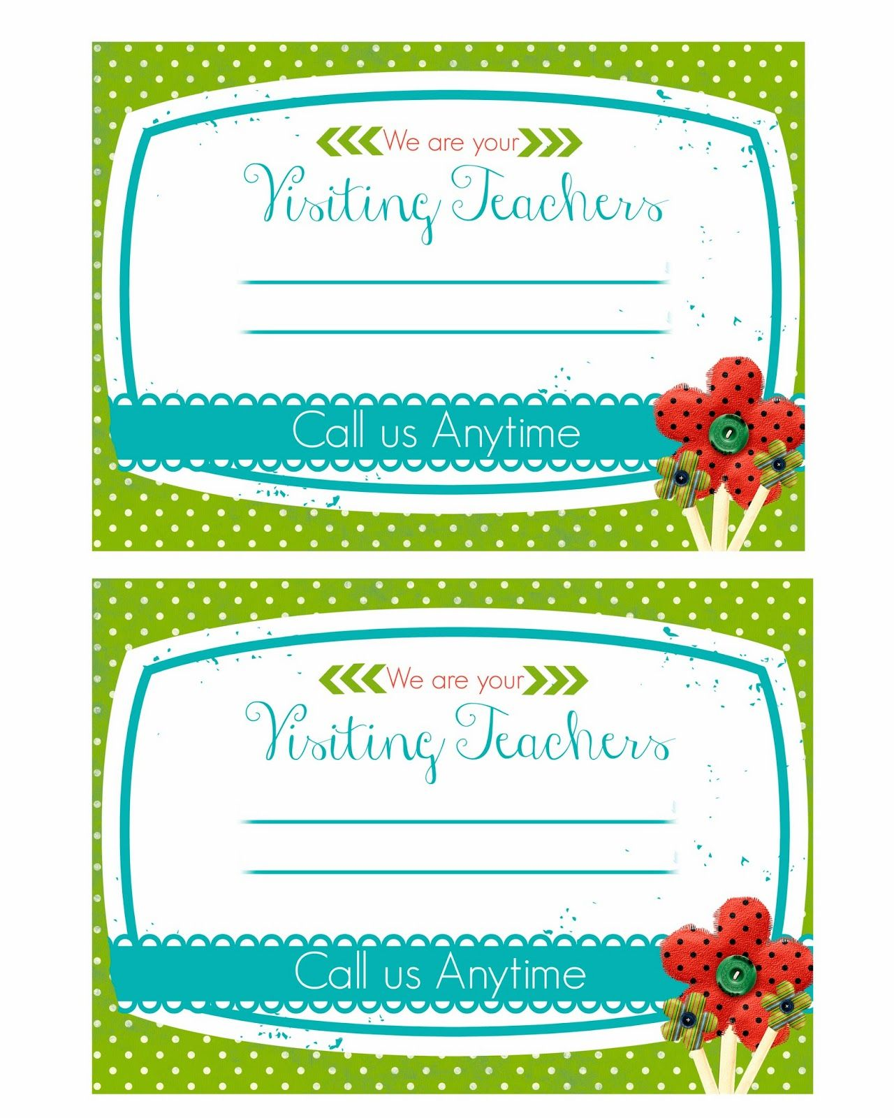 Mimi Lee Printables & More: Visiting Teaching handouts!! Free ...
