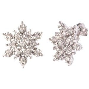 Snowflake Earrings Studs Google Search