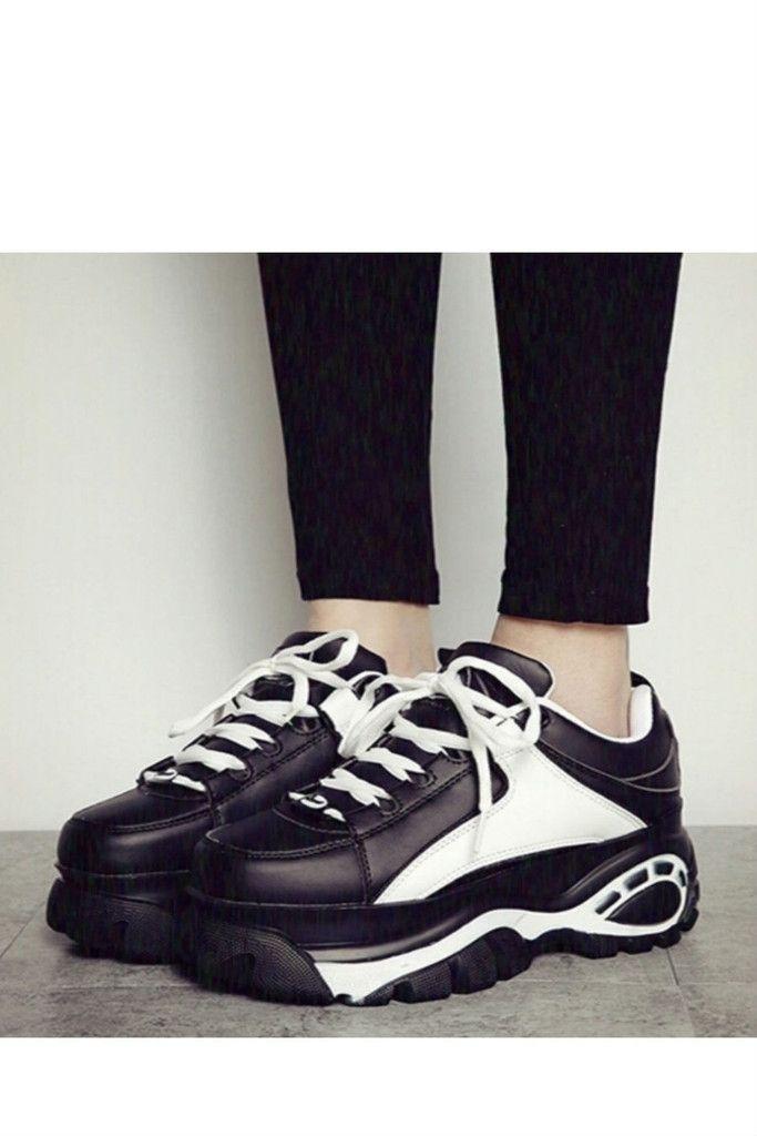 316758b3f3902 Vintage Black Asian-style Platform Shoes. Free 3-7 days expedited ...