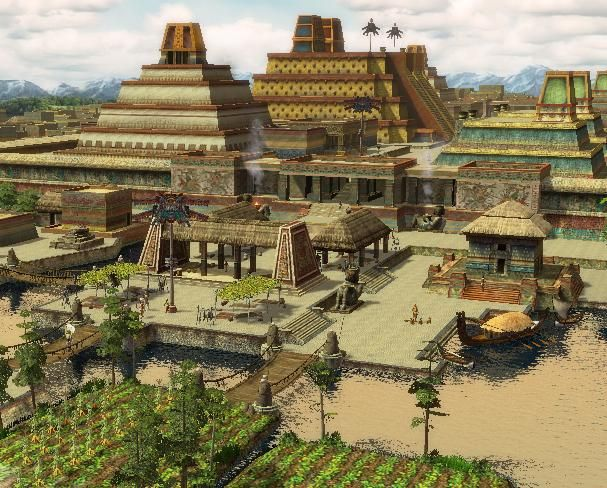 age of empires 3 aztec - Google Search | Argonian ...