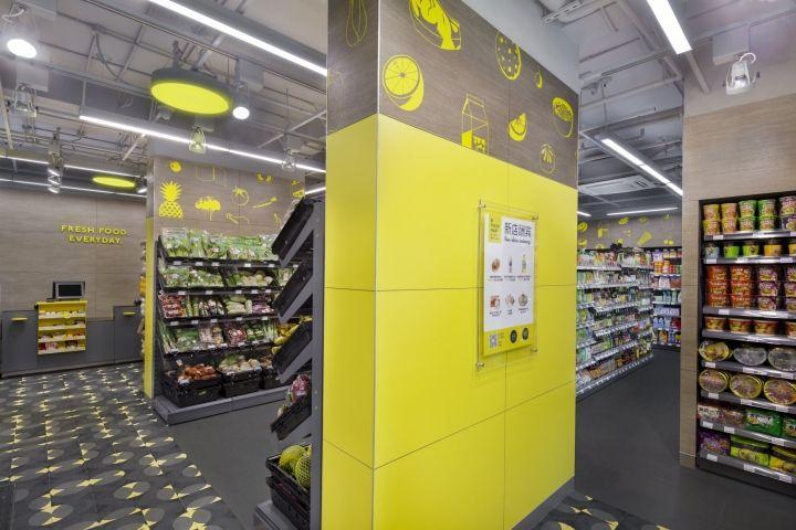 CP Fresh Mart Interior Brand Design By TRIAD Shanghai China Retail