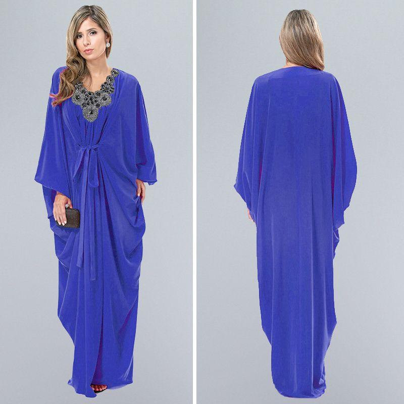 elegant latest arab elegant abaya kaftan islamich fashion muslim ...