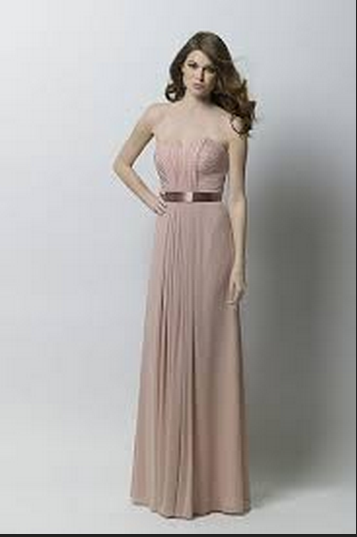 This is the color for the Bridesmaid's dresses (Buff)