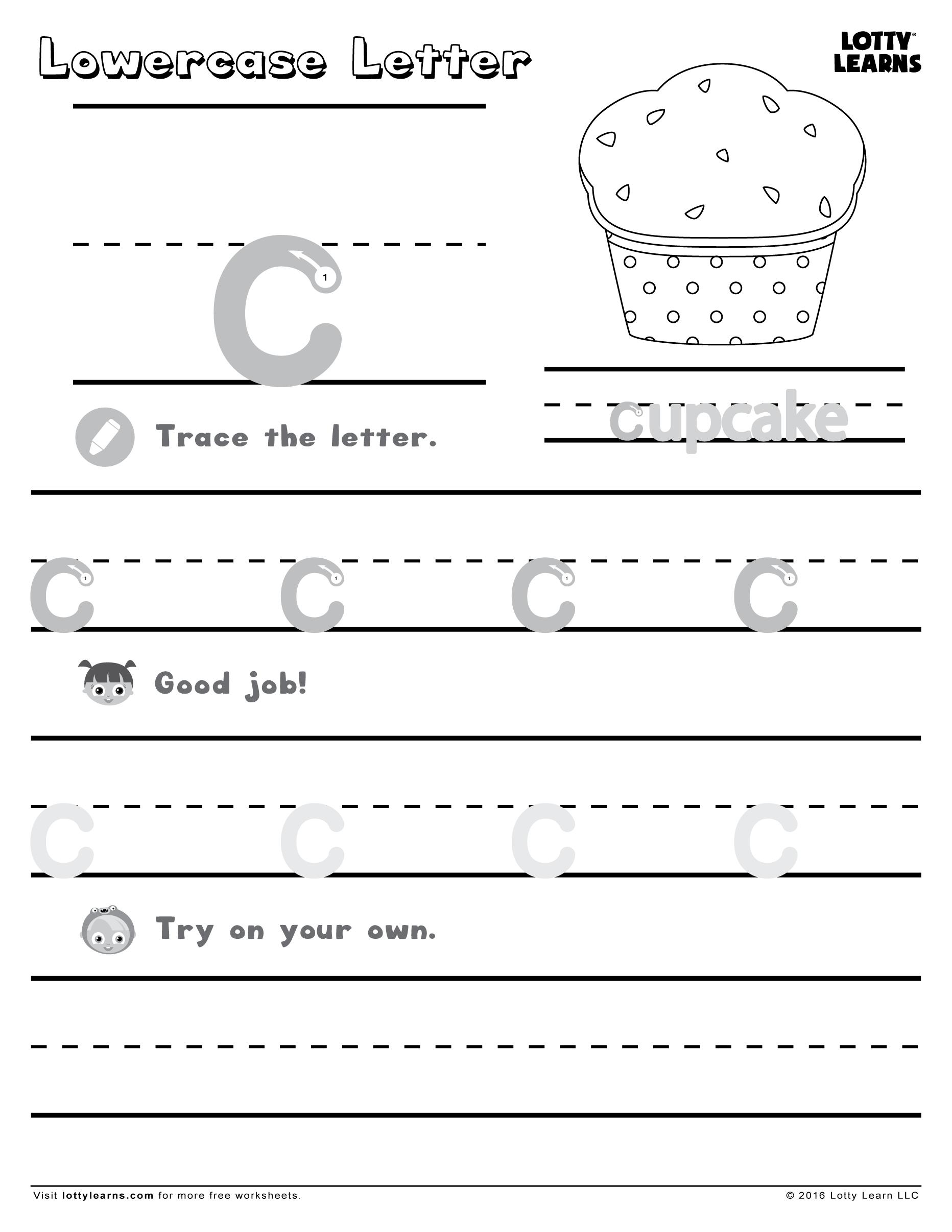 Letter C Worksheets Alphabet Worksheets Preschool Handwriting Worksheets For Kids Kindergarten Addition Worksheets [ 2412 x 1864 Pixel ]