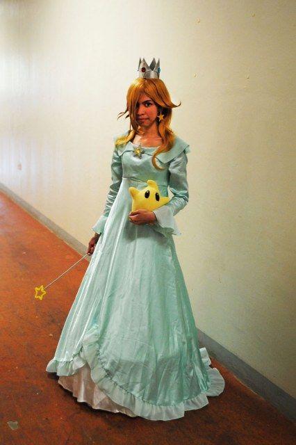 Another Rosalina costume. I like the Luma!