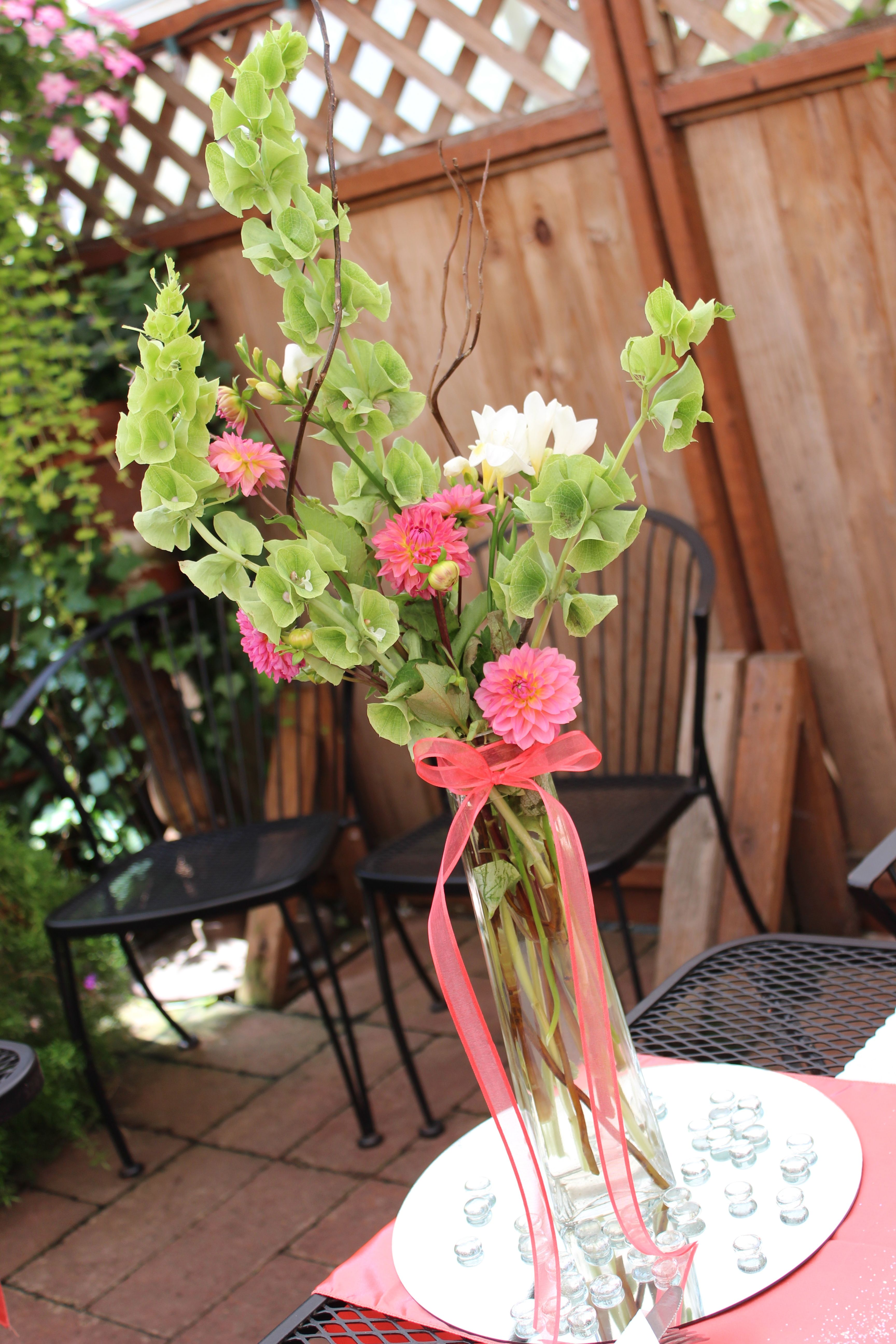 Mini dahlia flower arrangements i had made my decorations mini dahlia flower arrangements i had made izmirmasajfo