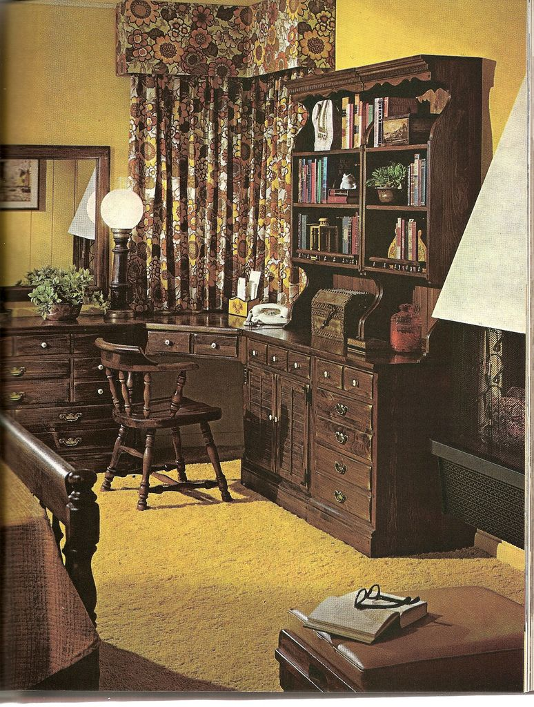 Ye Olde Colonial Den   Colonial  Early american and Mid century https   flic kr p 5QWTEN   Ye Olde Colonial Den      Vintage Interior DesignVintage