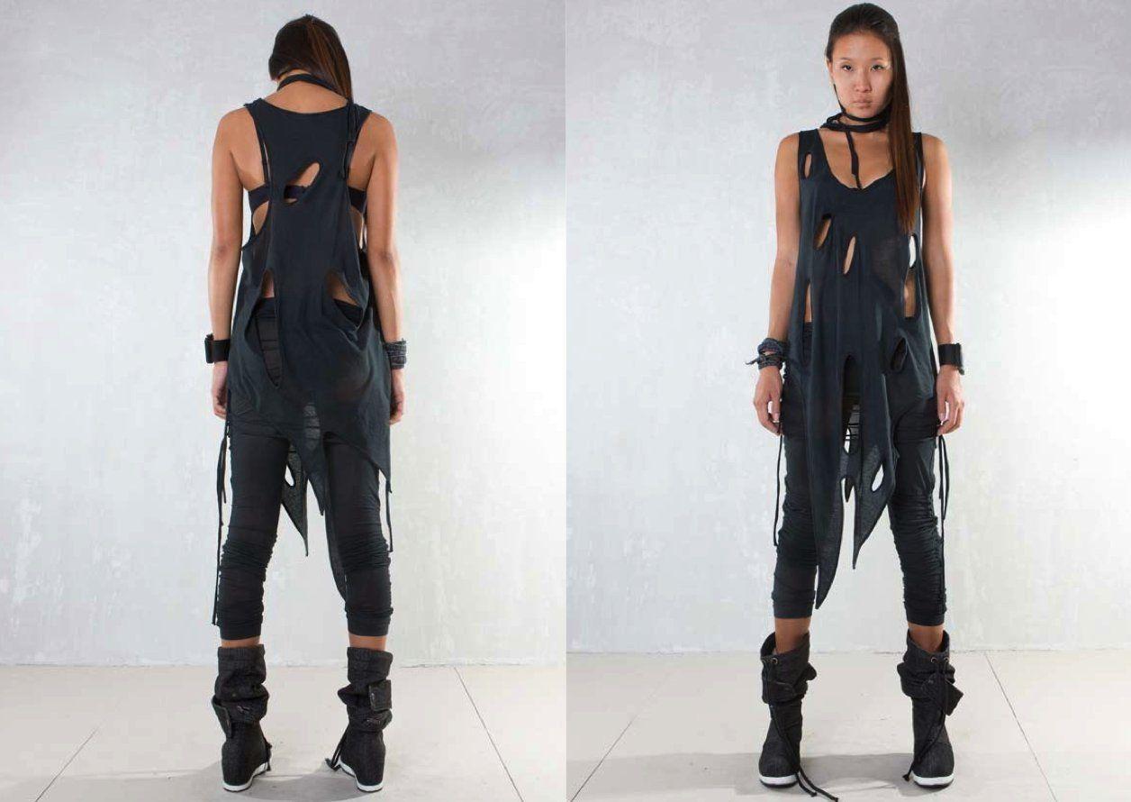 Demobaza SS13 Women Vest Ozone Holes | °second skins ...