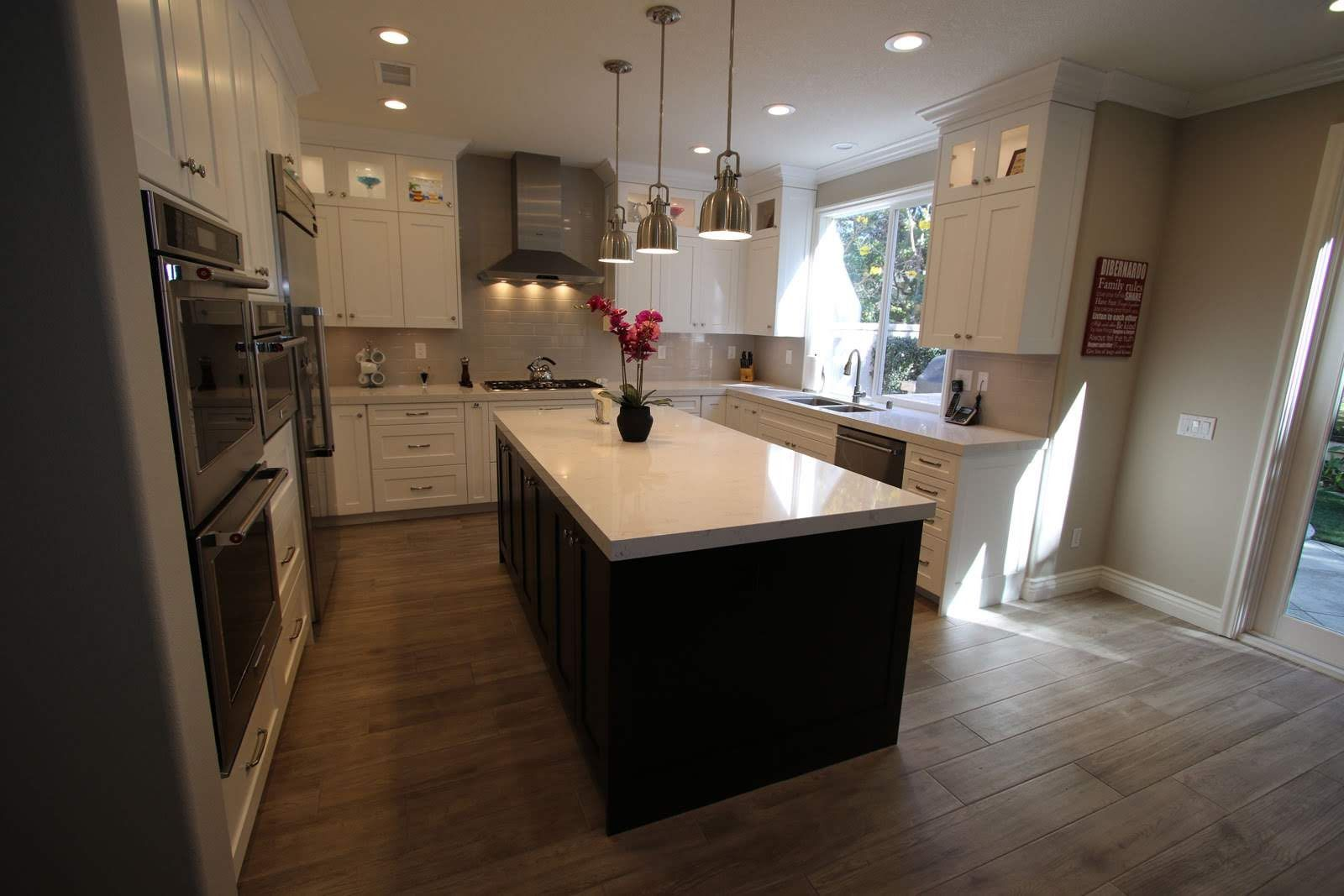 Huntington Beach Transitional Design Build Kitchen Remodel Kitchen Remodel Transitional Design Building Design