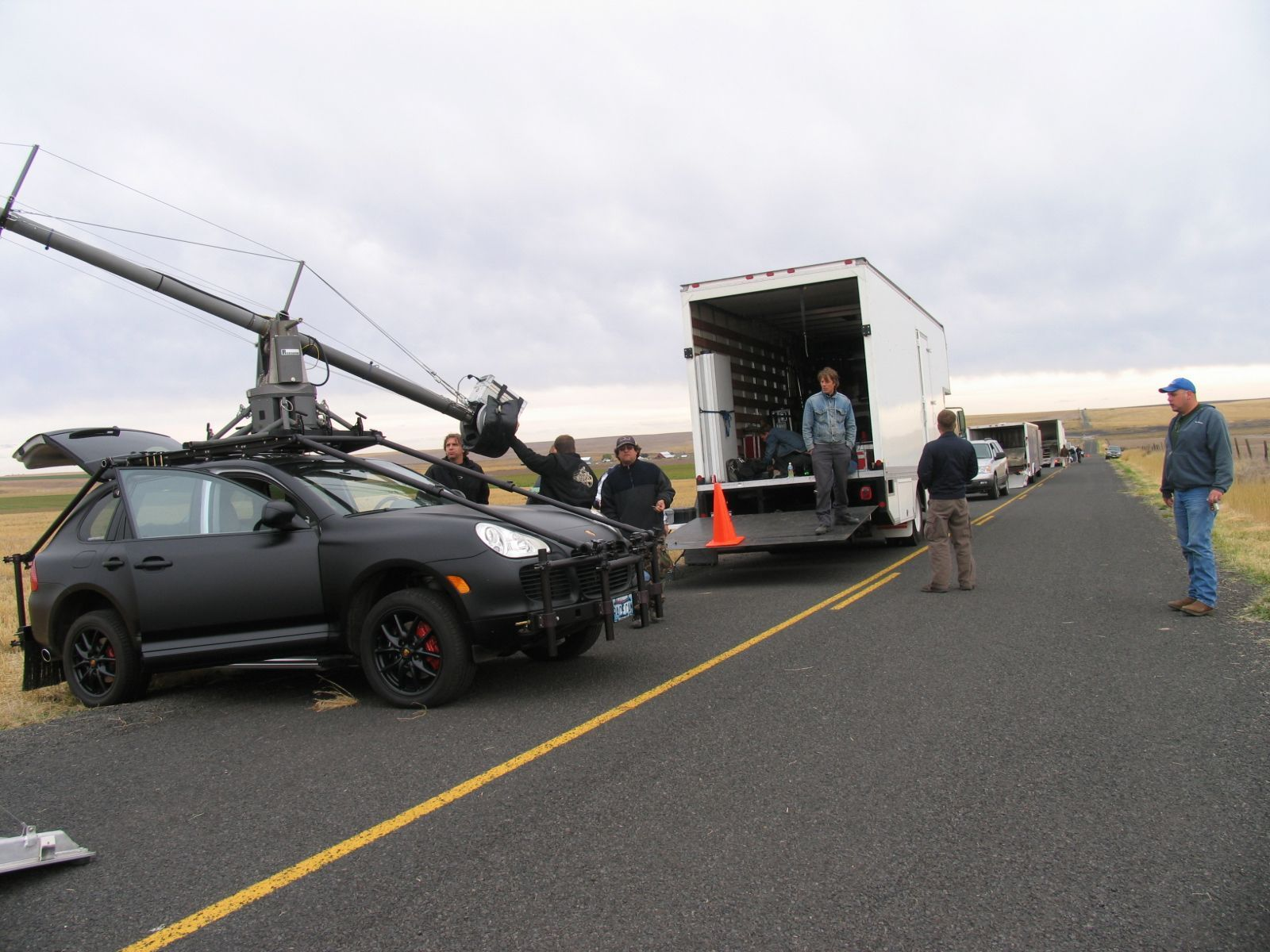 Is That A Porsche Cayenne Camera Car Yes It Dst Builds Cool Rigs But This One Was Of The Cooler And To Top Off