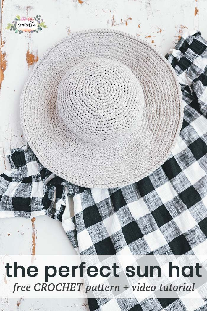 Crochet June Sun Hat | Pinterest | Gorros, Ganchillo y Sombreros de ...