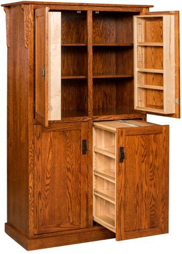 Spicy Mission 4-Door Pantry | Furniture, Free standing ...