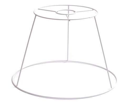Lampunvarjostimen metallikehikko, suuri kattolamppu. Vastaava isohko pyöreäkin olisi mieleinen.