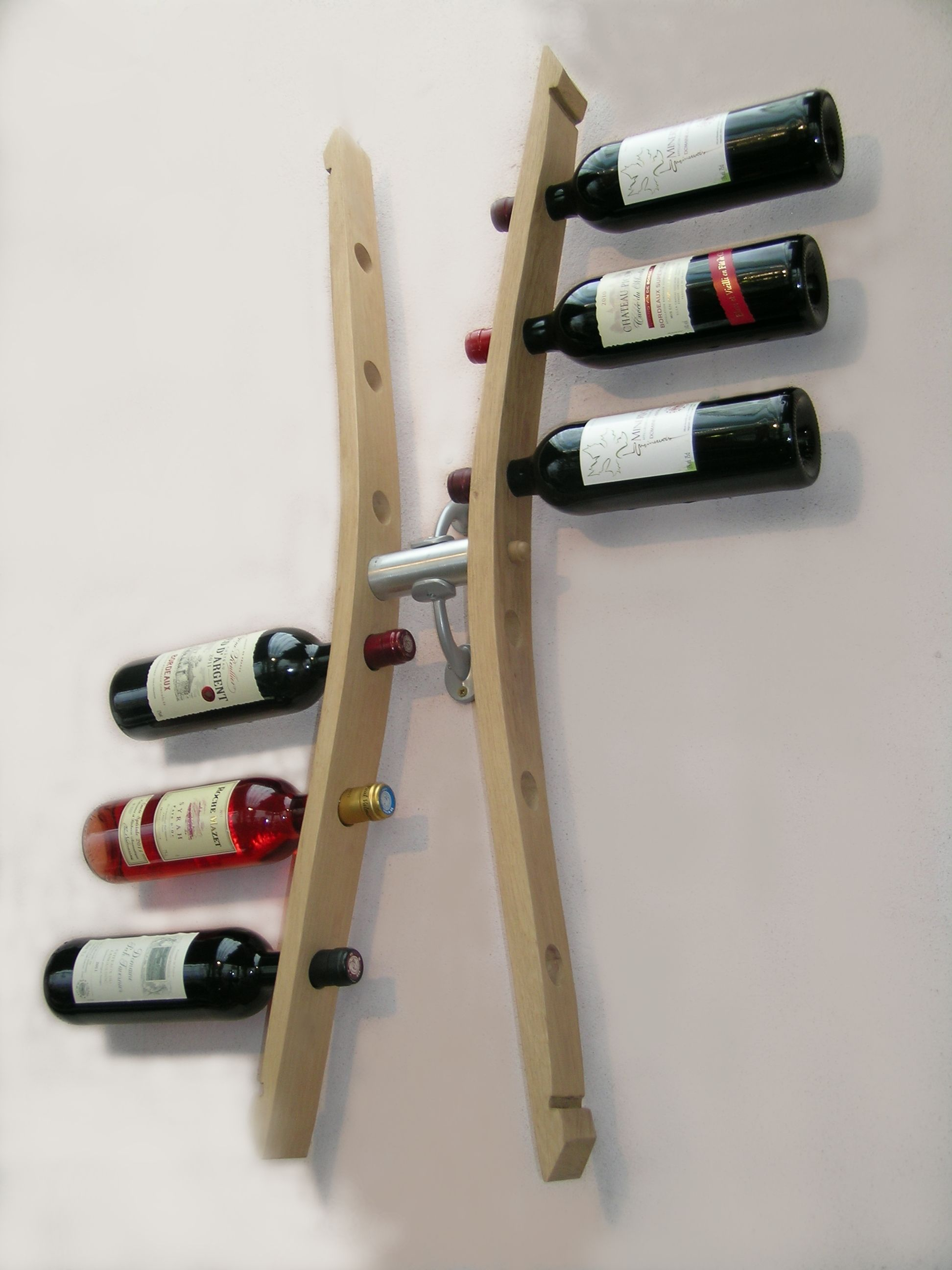 Support A Bouteille De Vin Mural support bouteilles mural stockage 12 bouteilles, create
