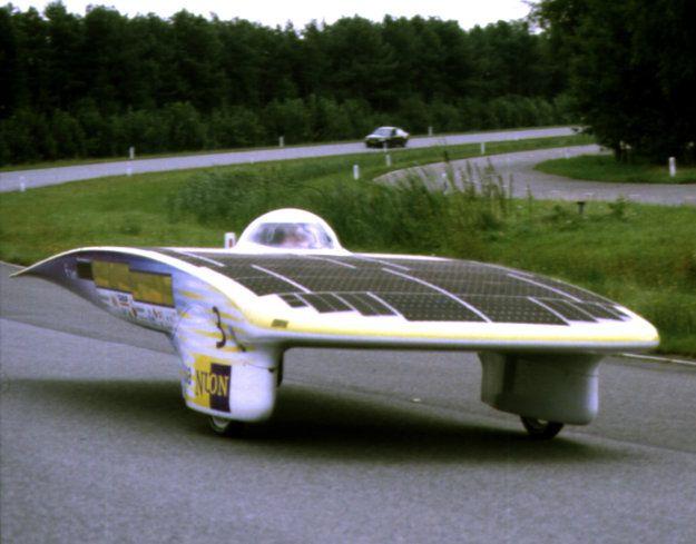 Nuna, solar powered car